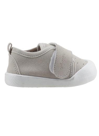 Vicco  950.E19K.224 Anka Kız/Erkek Bebek İlk Adım Ayakkabı Gri